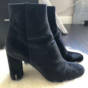 SAINT LAURENT LouLou Ankle Boots